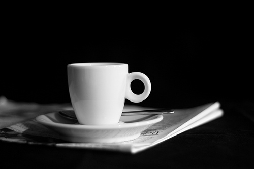 Newspaper and coffee - ASystems