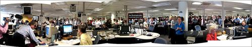 Washington Post newsroom