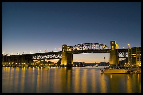 Burrard Street Bridge - Eric Flexyourhead